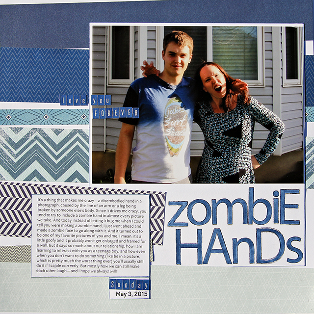 Zombie Hands</br>by Amy Sorensen