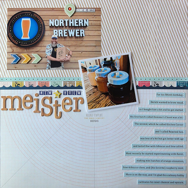 """New Brew Meister</br><span style=""""font-size: 8pt;"""">by</span> Jenny"""
