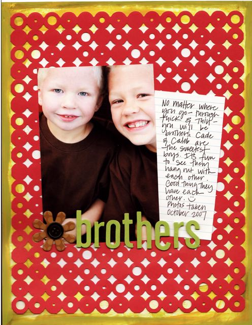 Brothers   Candice Palmer