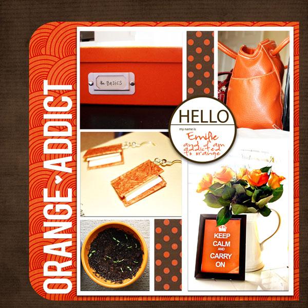 Orange Addict   Emilie Ahern