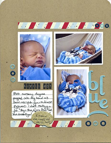 Little Boy Blue   Francine Clouden