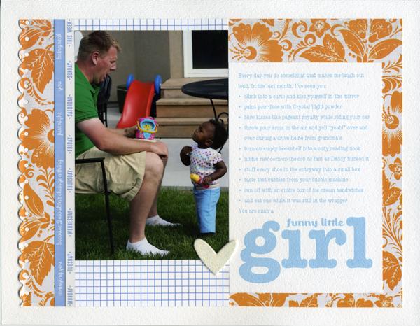 Funny Little Girl   Rachel Gainer