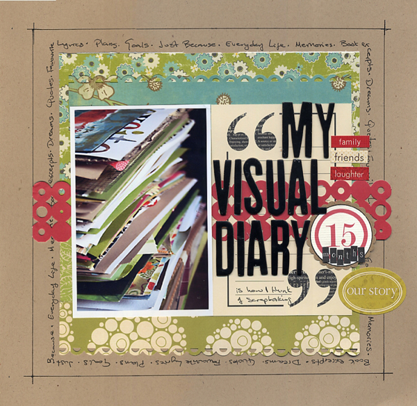 My Visual Diary   Francine Clouden