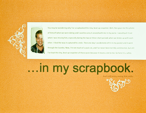 In My Scrapbook | Kim Morgan