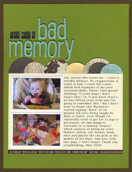 Bad Memory | Erin Sweeney