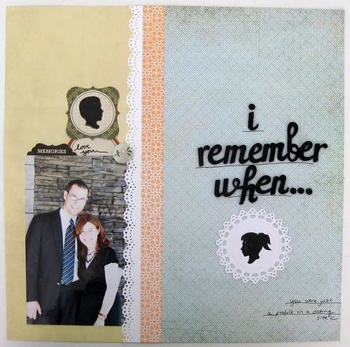 I Remember When | Keshet Starr