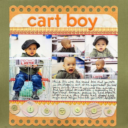 Cart Boy | Francine Clouden