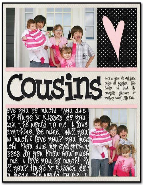 Cousins | Cheryl Overton