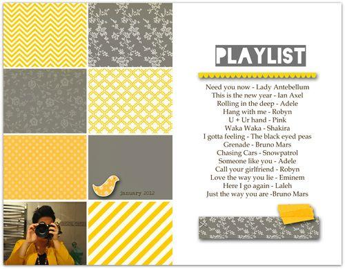 Playlist | Lisa Ottosson