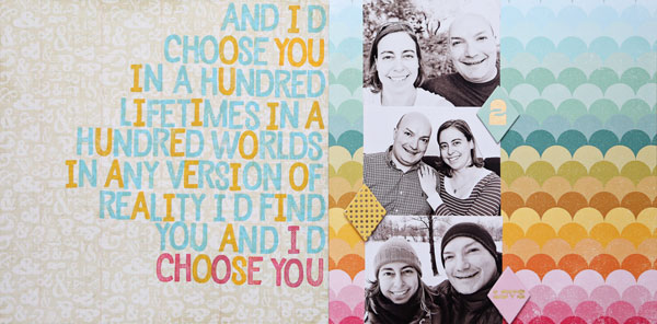 I'd Choose You | Cristina C. Scrap