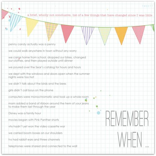 Remember When | Marnie Flores