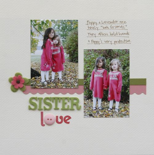 Sister Love (Version 2) | Marnie Flores
