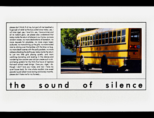 The Sound of Silence | Marnie Flores
