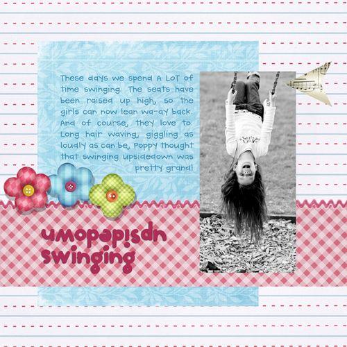 upsidedown swinging | Marnie Flores