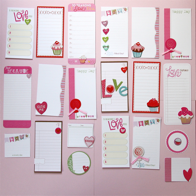 Valentine Envelopes | Beth Proudfoot