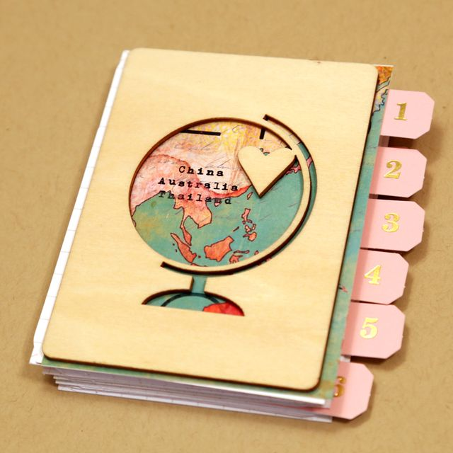 Travel Mini Album | Cristina C. Scrap