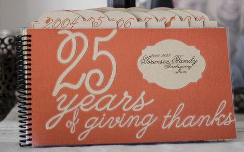 25 Years of Giving Thanks | Amy Sorensen