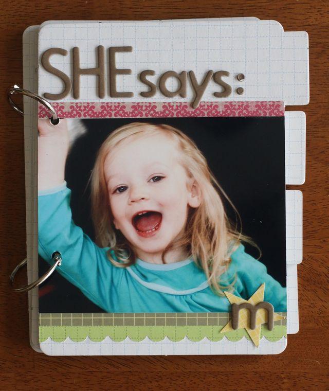 She Says: | Emily Spahn