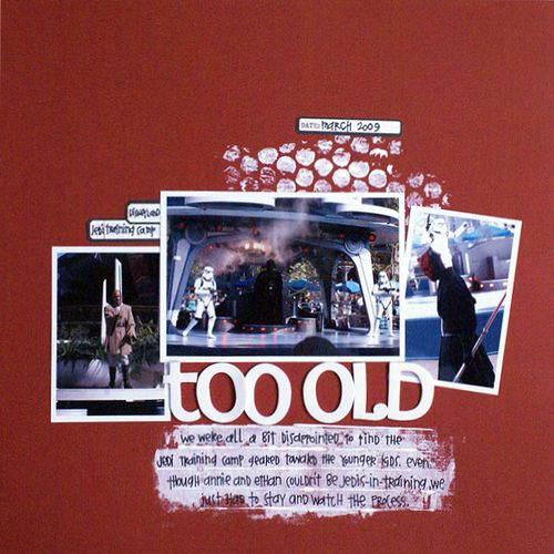 Too Old | Emily Pitts