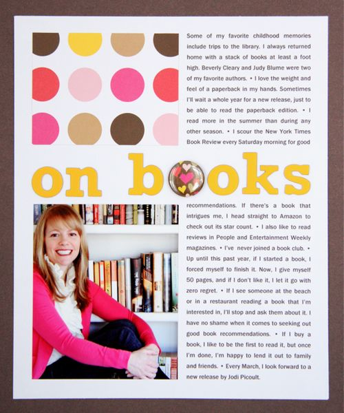 On Books | Beth Proudfoot