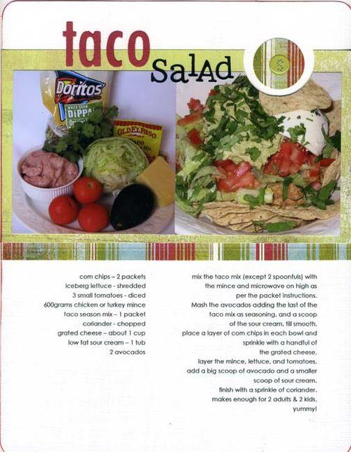 Taco Salad | Jody Dent-Pruks