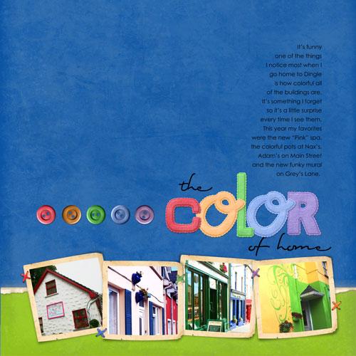 The Color of Home | Paula Gilarde