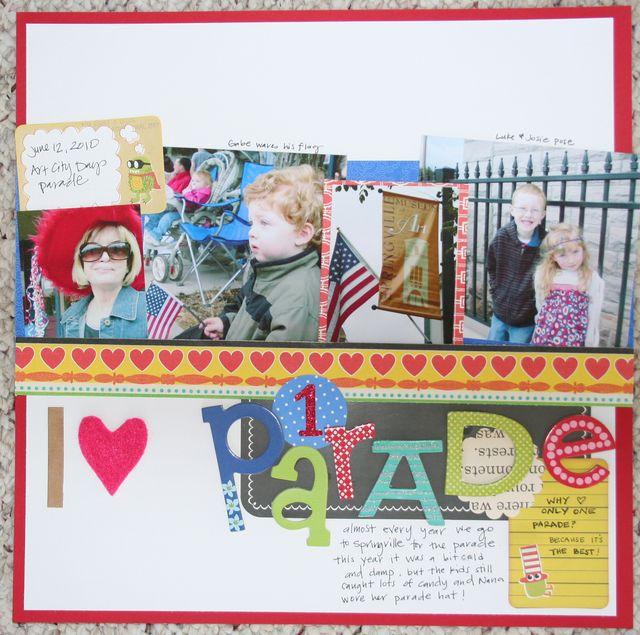 I Love 1 Parade | Kelly Jeppson
