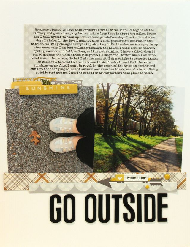 Go Outside</br>by Tracie