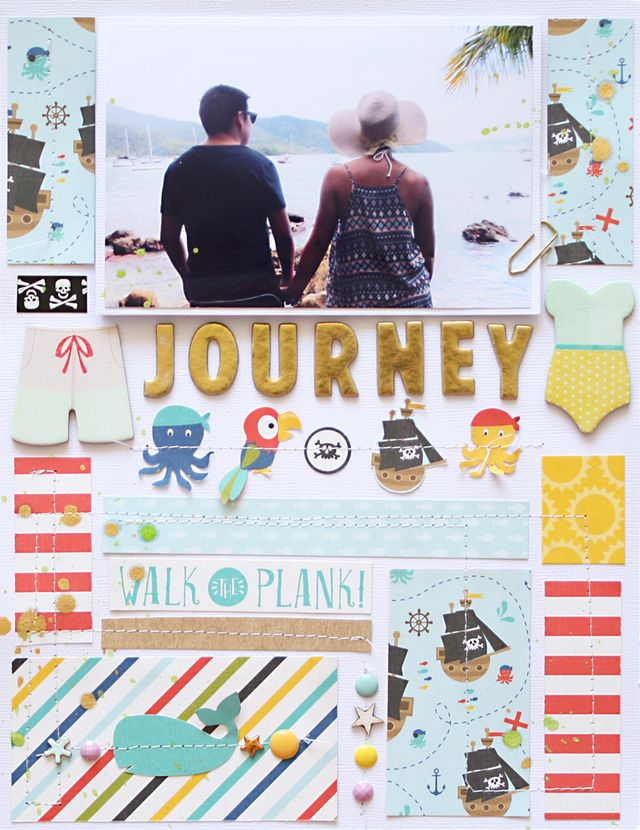 """Journey</br><span style=""""font-size: 8pt;"""">by</span> Cari"""
