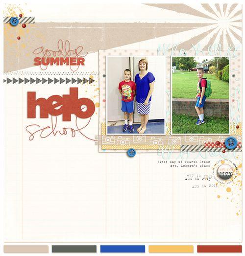 Goodbye Summer...Hello School | Carey Bridges