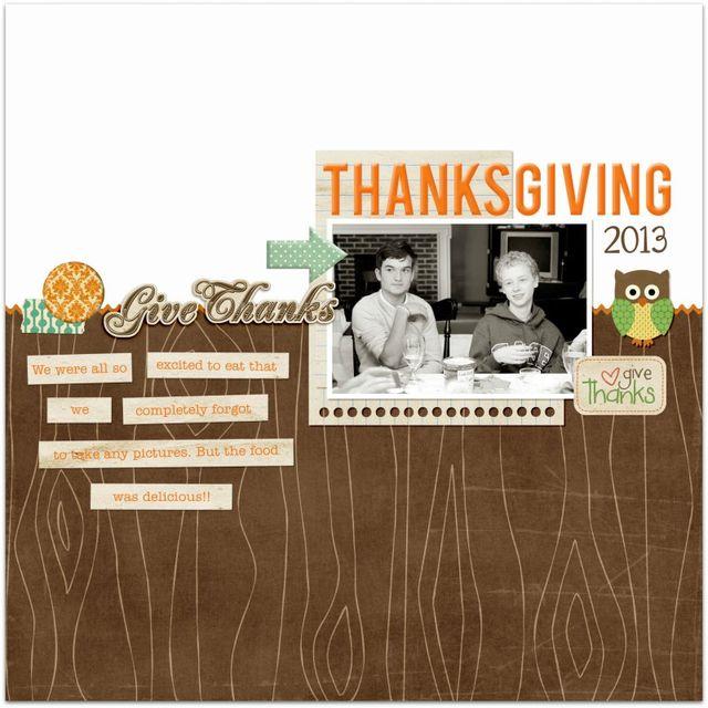 Thanksgiving Dinner | Marnie Flores