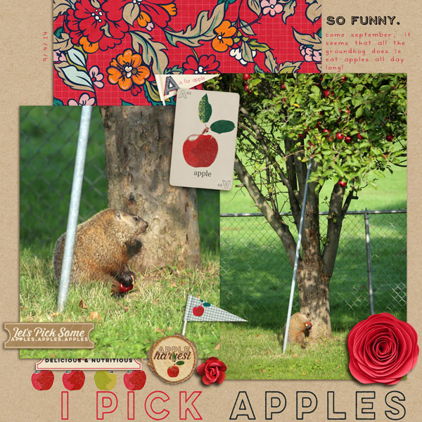 I Pick Apples | Cristina C. Scrap