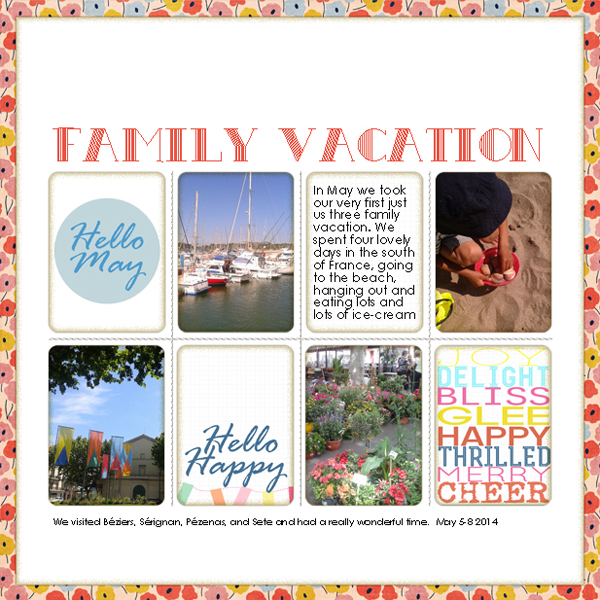 Family Vacation | Francine Clouden