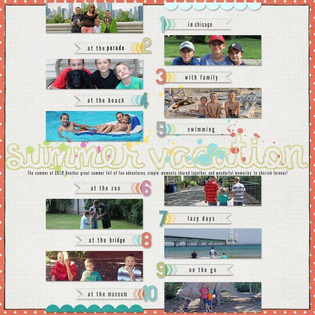 Summer Vacation   Jennifer Hignite