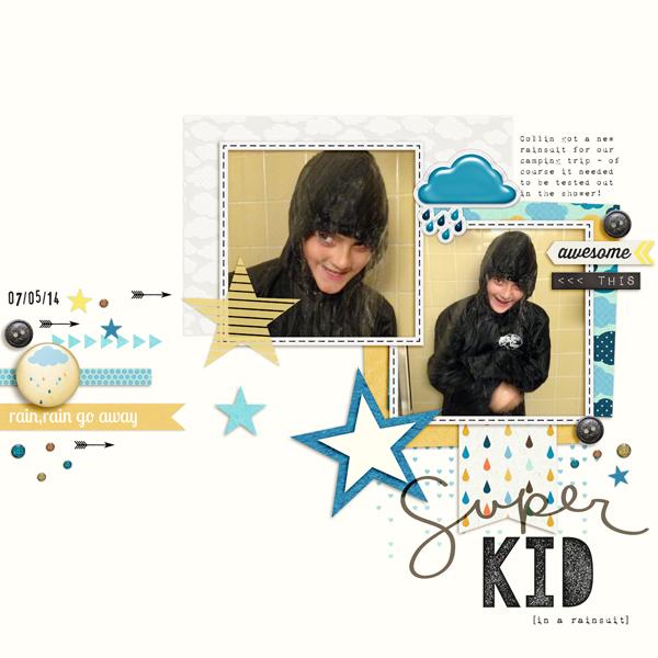Super Kid [in a rainsuit]   Carey Bridges