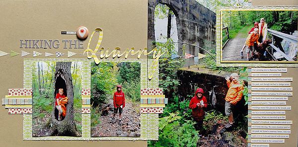 Hiking the Quarry | Jennifer Larson
