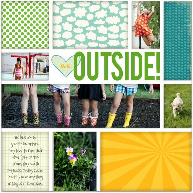 We (heart) Outside! | Marnie Flores