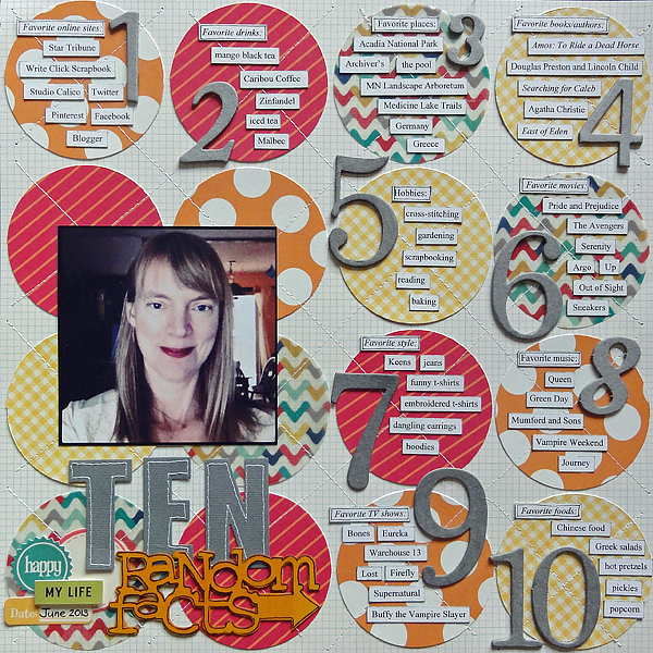 Ten Random Facts | Jenny Larson