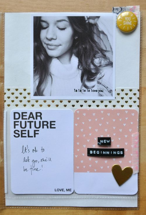 Dear Future Self</br>by Lisa Borbély