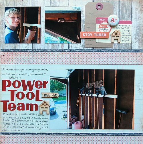 Power Tool Team</br>by Jennifer Larson