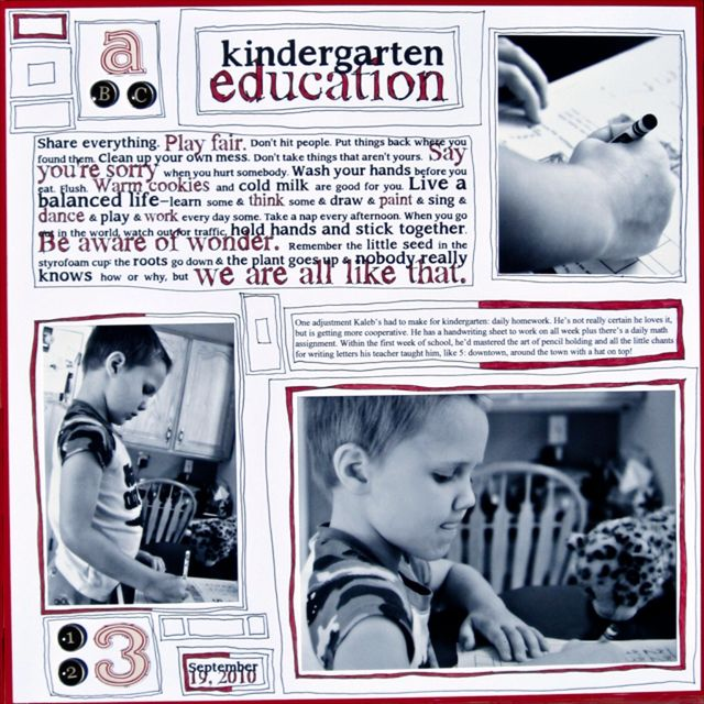 Kindergarten Education | Amy Sorensen