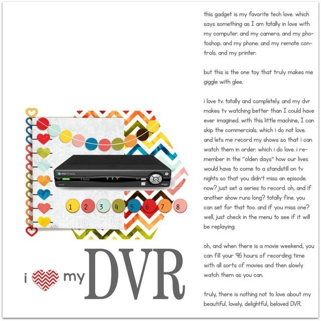 DVR Love | Marnie Flores