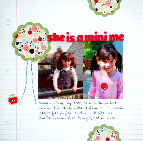 She Is a Mini Me | Vivian Masket